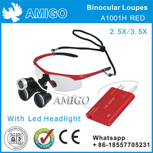 Binocular Loupes with LED lamp